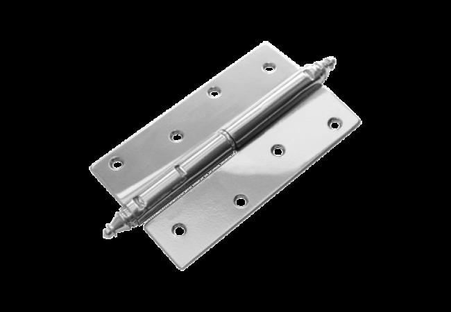 Петля накладная ПН-120 левая с фигурным запятником (2.5 мм)