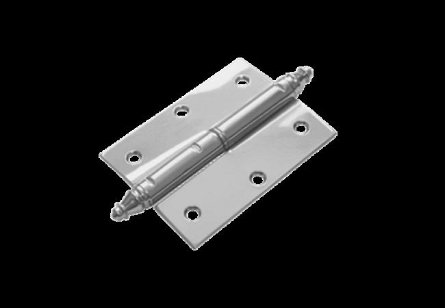 Петля накладная ПН-85 левая с фигурным запятником (2.0 мм)