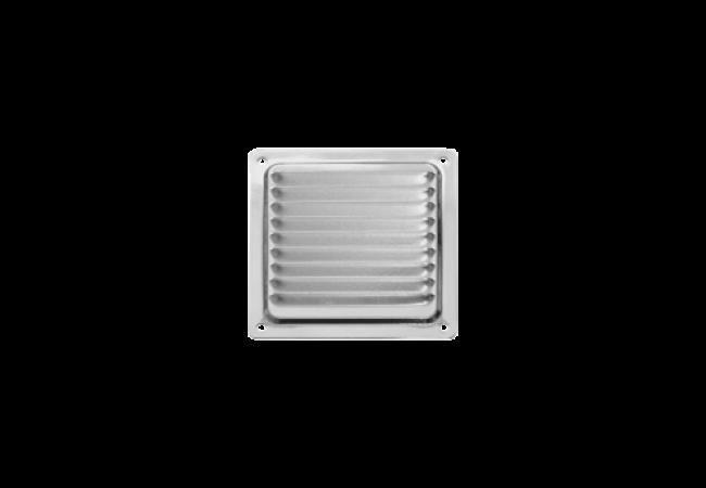 Решетка вентиляционная 100х100, с антимоскитной сеткой