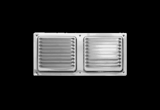 Решетка вентиляционная металлическая 100х200