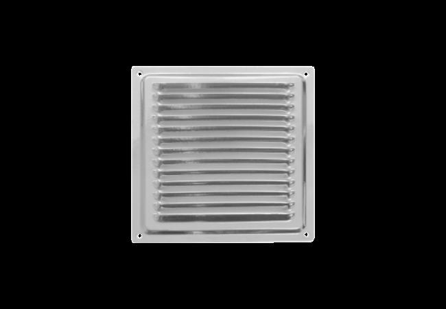 Решетка вентиляционная 150х150, с антимоскитной сеткой