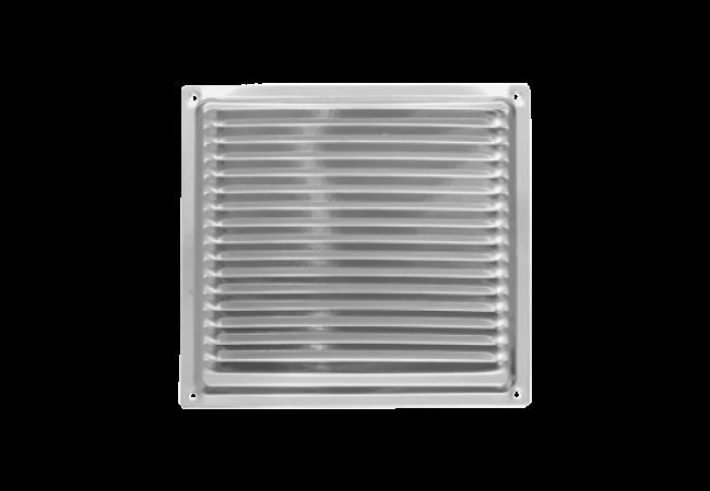 Решетка вентиляционная 175х175, с антимоскитной сеткой
