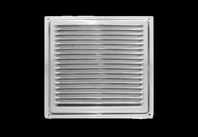 Решетка вентиляционная 200х200, с антимоскитной сеткой