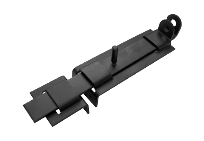 Засов с проушиной плоский ЗПП-350 мод.2